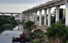 Cleaning of Musi River