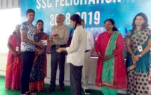 SSC passed students felicitated