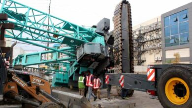 Photo of Crane Accident at Shaikpet