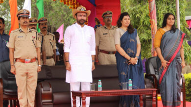 Photo of Union MoS for Home G. Kishan Reddy visits CRPF Center at Barkas