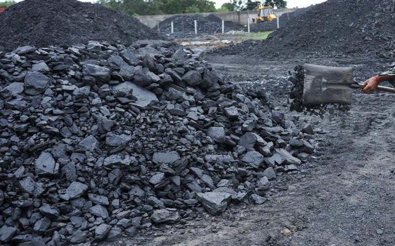Coal production affected by strike in Telangana's Singareni.