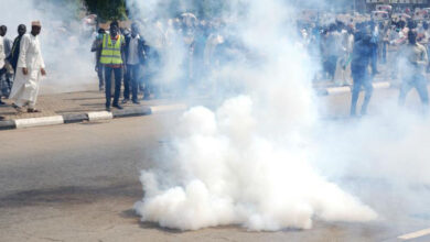 Photo of Police fire bullets to break up Shiite protest in Nigeria
