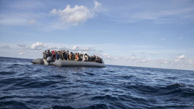 Photo of 5 migrants dead, up to 20 missing in sinking off Libya