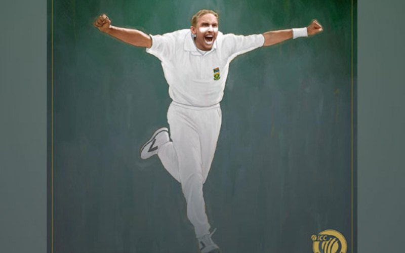 Allan Donald inducted into ICC Hall of Fame