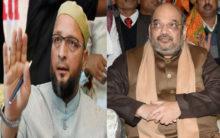 Lok Sabha: Hyderabad MP Owaisi, Amit Shah get into verbal duel