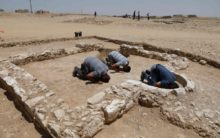 Archaeologists unearths remains of 1200 year-old ancient mosque