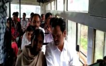 Andhra: Legislator travels by bus to connect with commuters