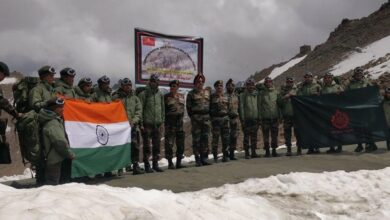 Photo of Army soldiers undertake trekking expedition to commemorate victory in Battle of Tololing