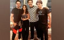 Ayushmann joins Bhumi's birthday celebrations in Lucknow