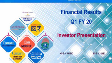 Photo of Canara Bank net profit up 17 pc in Q1 FY20