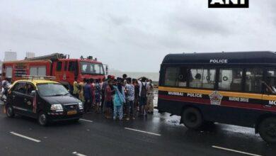 Photo of Mumbai: 2 drowned at Marine Drive, rescue operation underway