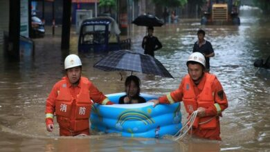 Photo of Over a million people affected in China due to heavy rainfall