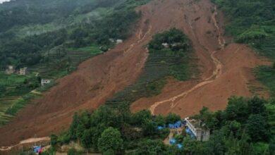 Photo of China: 16 killed in landslides, 30 missing