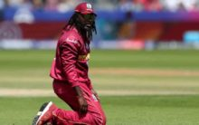 Gayle irked at airline for refusing to let him board flight