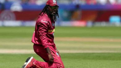 Photo of Gayle irked at airline for refusing to let him board flight