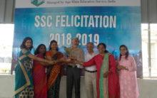Diamond Jubilee high school, celebrated SSC success in board result
