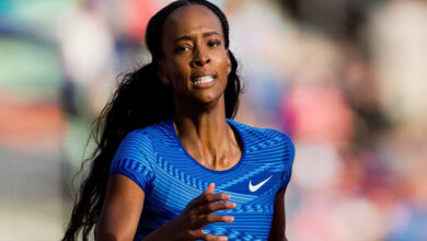 Photo of Dalilah Muhammad breaks world record in 400m hurdle race