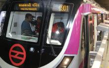 Delhi Metro's Magenta Line services disrupted