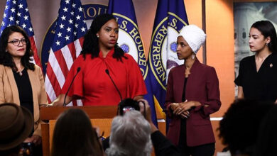 Photo of Democratic congresswomen hit back at Trump tweets