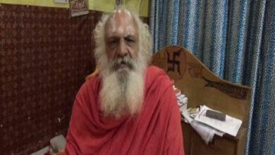 Photo of Ayodhya litigant Mahant Dharamdas receives threat call, security heightened