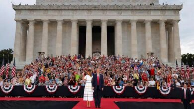 Photo of With tanks and jets, Trump marks July 4 celebrations