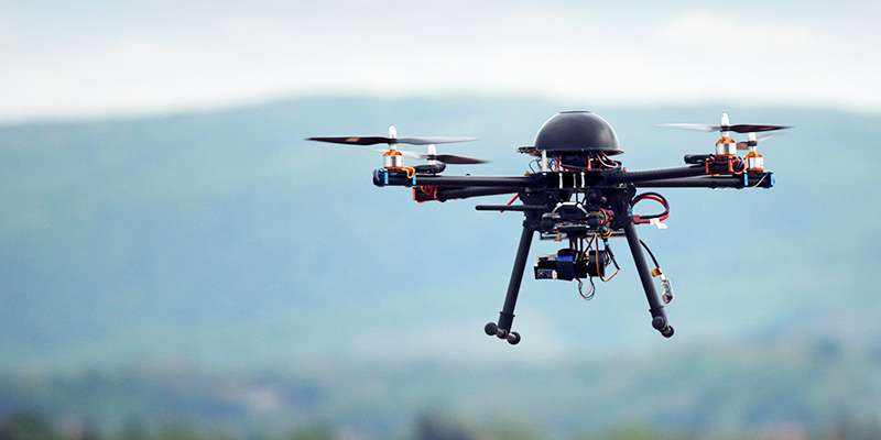 Innovative Drone-delivery Project Medicine From The Sky in TS