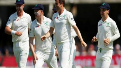 Photo of England trail Ireland by 122 runs as day one ends
