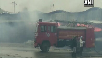 Photo of Massive fire breaks out at Anaj Mandi in Ambala