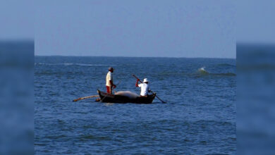 Photo of 4 Indian fishermen arrested by Sri Lankan Navy