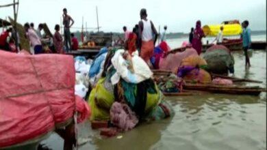 Photo of Prayagraj faces flood-like situation as heavy rains swell Ganga
