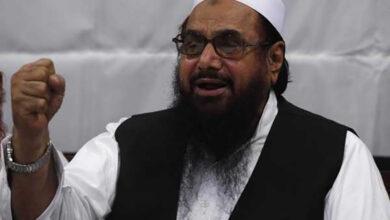 Photo of UN-designated terrorist Hafiz Saeed arrested