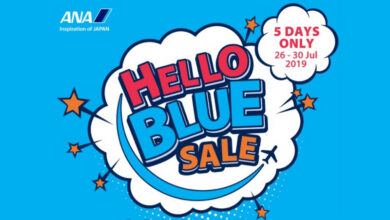 """Photo of ANA launches limited """"Hello Blue Sale"""""""