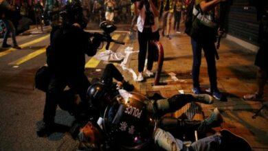 Photo of 45 Hong Kong protestors charged with rioting