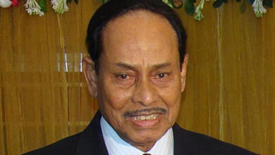 Photo of Former Bangladesh President HM Ershad dead