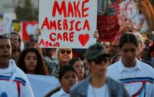 Protests against Trump's policies as anti-immigrant crackdown