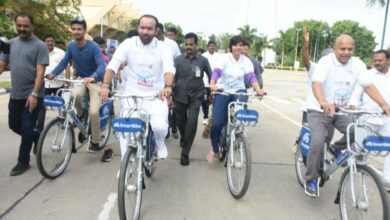 Photo of World Bicycle Day celebrated in Hyderabad