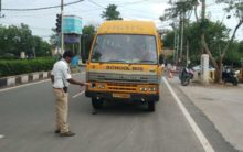 Cyberabad cops gives decible dose to noisy vehicles