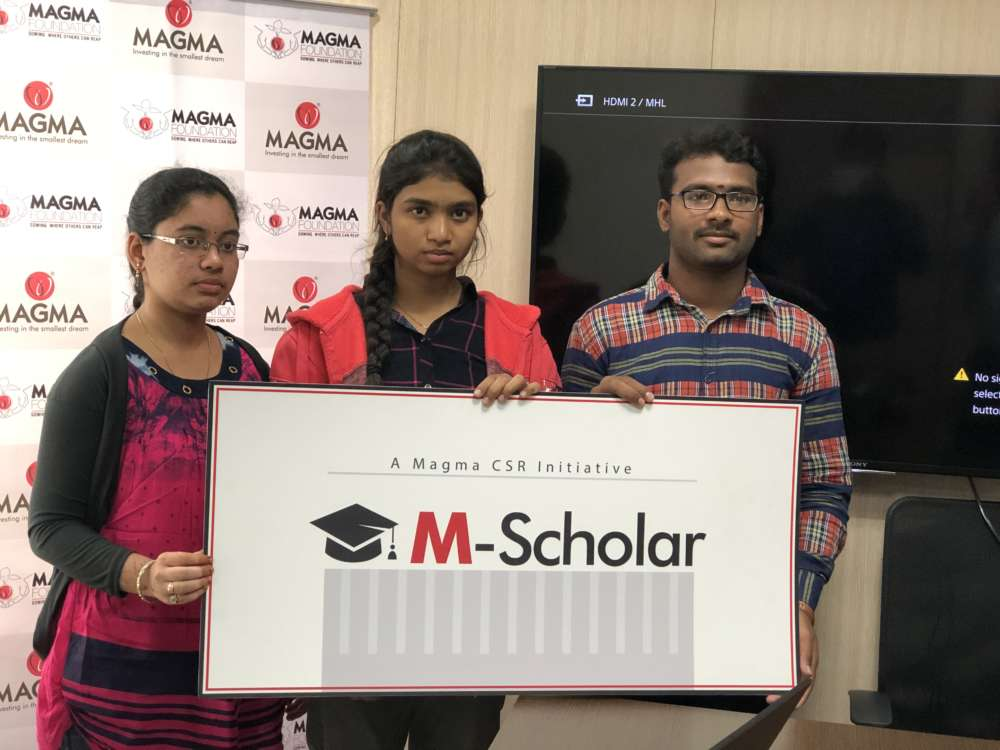 100 underprivileged students to get Scholarship by a company
