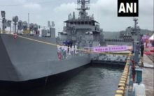 LCU L56 commissioned into Indian Navy