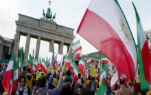 Berlin: Thousands protest against Iran, accuse it of human rights violations
