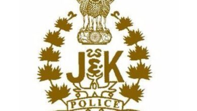 Photo of J-K police files charge sheet against 6 terror associates