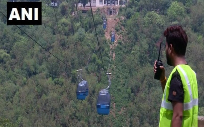 Jammu ropeway to open for public by July end