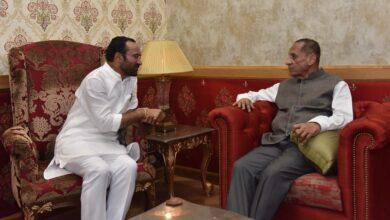 Photo of Kishan Reddy calls on Governor