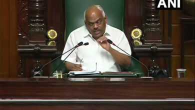 Photo of Karnataka trust vote: Speaker takes dig at politics of defection