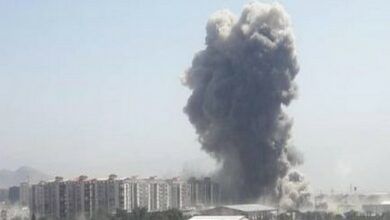 Photo of Explosion near US embassy in Kabul