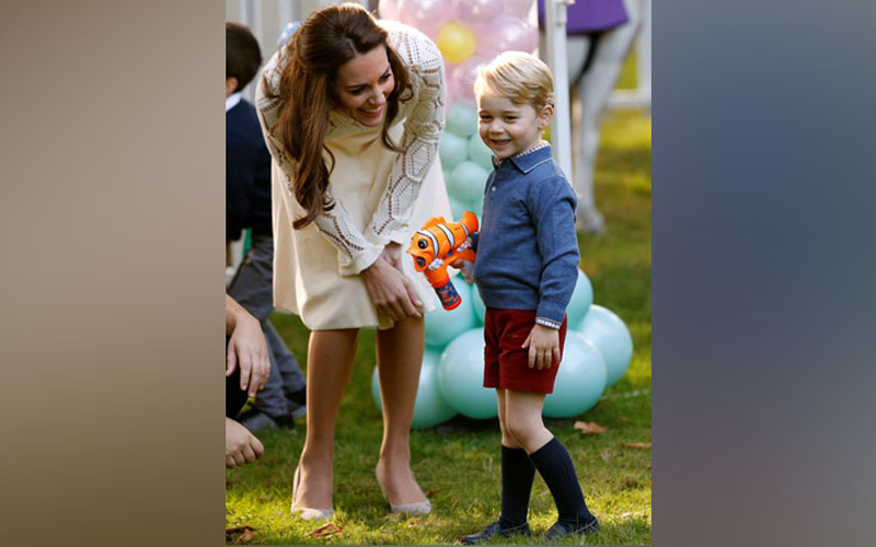Here's how Prince George is celebrating his birthday