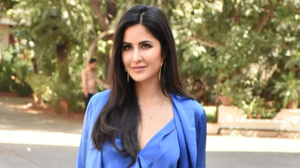 Katrina oozes oomph in white swimsuit on 36th b'day