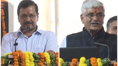 Photo of Shekhawat, Kejriwal lay foundation stone for sewage treatment plant in Okhla
