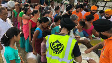 Photo of Khalsa Aid: Selflessly serves ration to flood victims in Assam