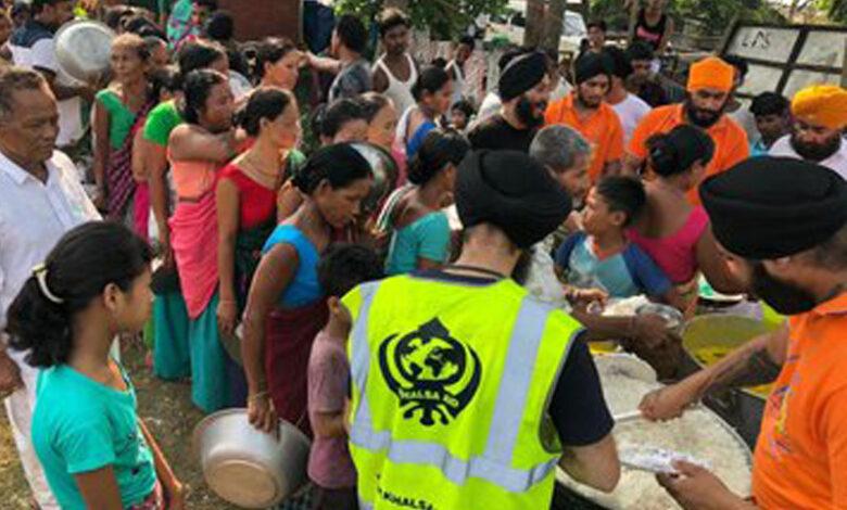 Khalsa Aid Assam Floods